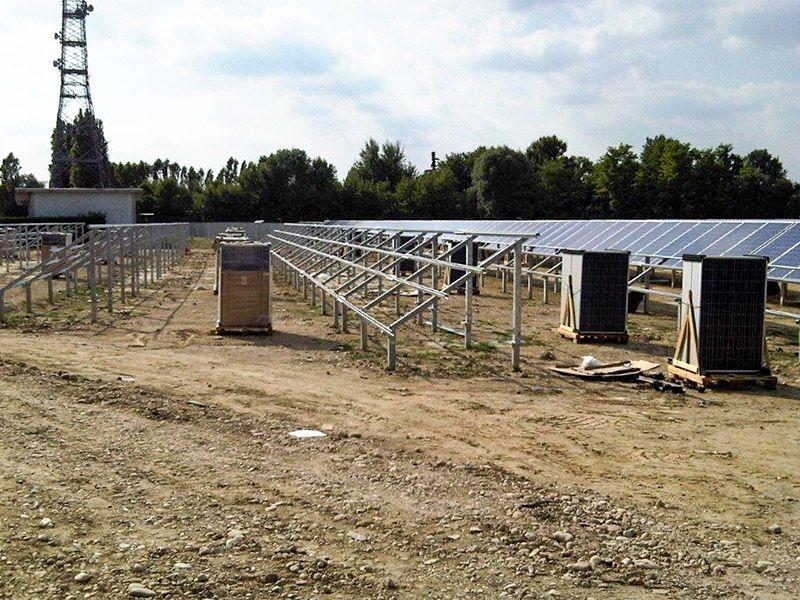 Particolare Impianto Fotovoltaico 800 kWp Dolo (VE)