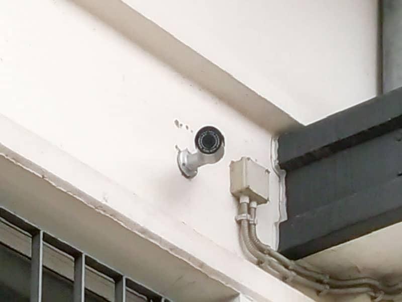 Particolare Telecamera di Videosorveglianza