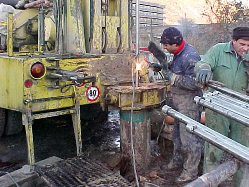 Realizzazione impianto di terra traliccio Enel Bolzano